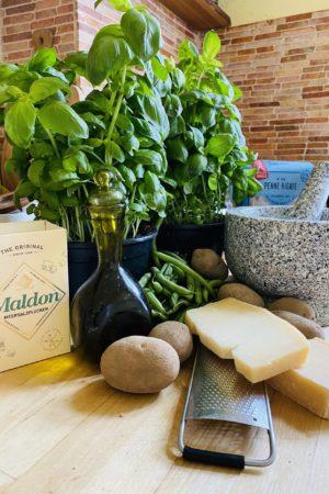 Pesto Genovese Ingredients