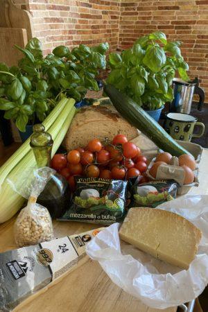 Pesto Mozzarella Ingredients